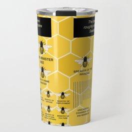 The Organization of Bees Travel Mug