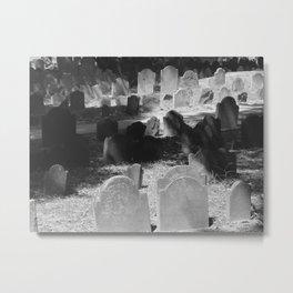 Granary Burying Ground by David Hohmann Metal Print