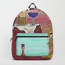 Vino - Italian Winery Landscape Backpack