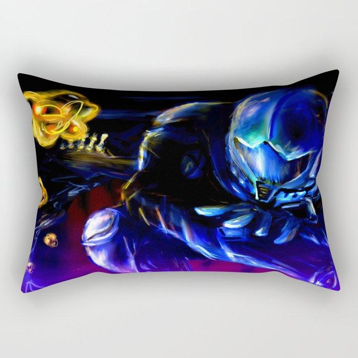 Metroid Metal: Sector 1 Rectangular Pillow