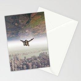 parachutist Stationery Cards