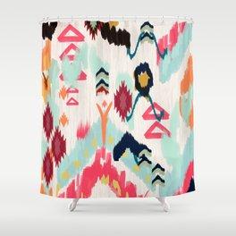 Bohemian Ethnic Painting Shower Curtain