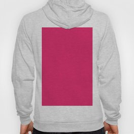 Raspberry Red Solid Color Hoody