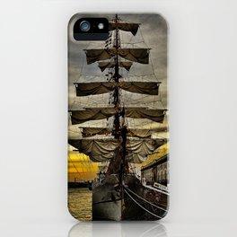 Tall Ship BAE Guayas iPhone Case