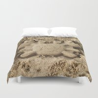 crab Duvet Covers featuring crab by Кaterina Кalinich