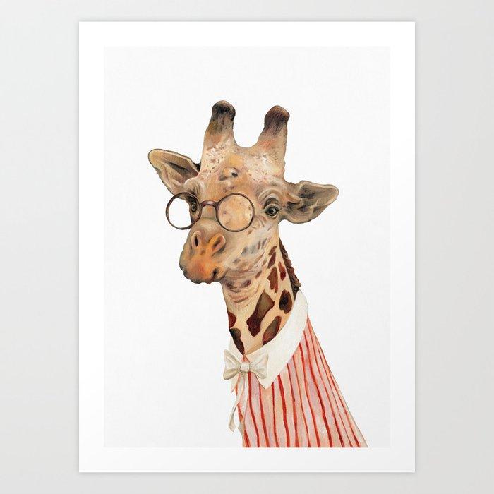Giraffe Kunstdrucke