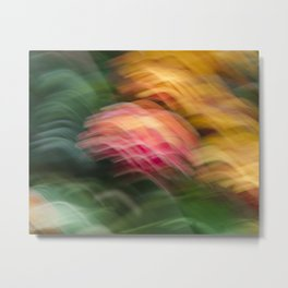 Gentle Ocean of Colors Metal Print