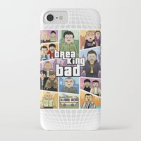 gta iPhone & iPod Cases featuring Lego Gta Mashup Breaking Bad by Akyanyme