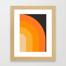 Retro 04 Framed Art Print