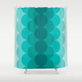 Gradual Ocean Shower Curtain