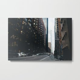 The Windy City | Part III Metal Print