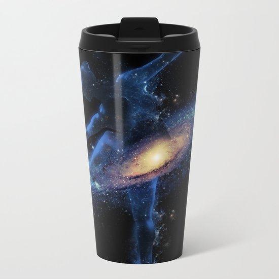Cosmic dance Metal Travel Mug