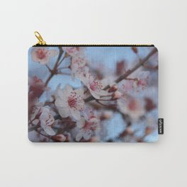 Purpleleaf Cherry in Bloom Carry-All Pouch