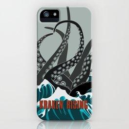 Kraken Rising iPhone Case
