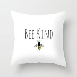 Stay Bumble Throw Pillow