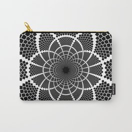 Optical Illusion Medallion Carry-All Pouch