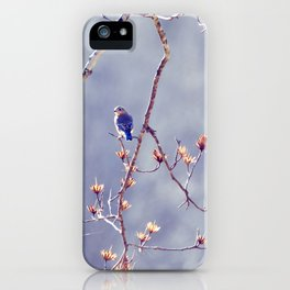 A Bluebird for Isabelle iPhone Case