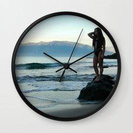 Hawaiian Mornings Wall Clock