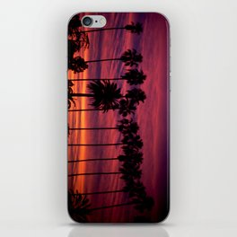 Sunset over Hollywood iPhone Skin