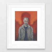 birdman Framed Art Prints featuring Birdman by Todd Spence
