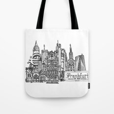 Busy City – Frankfurt am Main Tote Bag