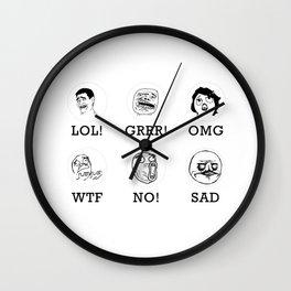 084 Message Wall Clock
