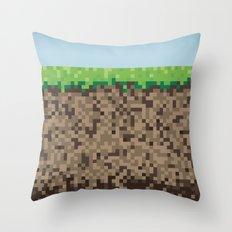 Minecraft Block Throw Pillow