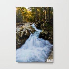 Franconia Flow Metal Print