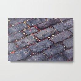 Rocks, stars, hearts Metal Print