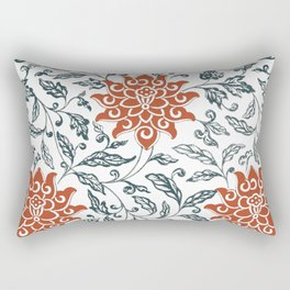 Red chrysanthemum Rectangular Pillow