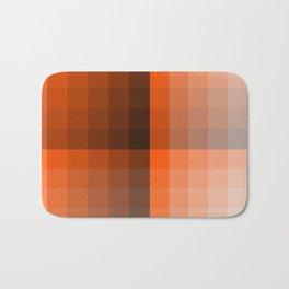 Monochromatic Orange Bath Mat