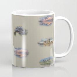 Highland landmarks in beige Coffee Mug