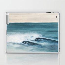 Surfing big waves Laptop & iPad Skin