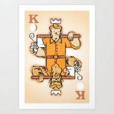 King of Moons Art Print