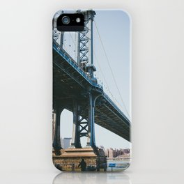 Down Under the Manhattan Bridge iPhone Case