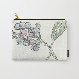 Nature in Blue & Green Carry-All Pouch