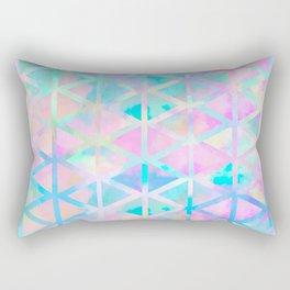 Pink pastel aztec pattern Rectangular Pillow