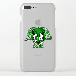 Saudi Arabia الصقور الخضر (Green Falcons) ~Group A~ Clear iPhone Case