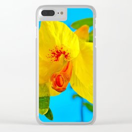 Morning Vision Clear iPhone Case