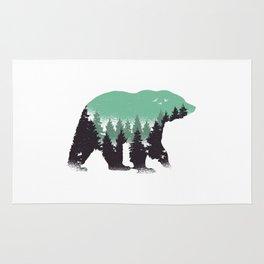 Bear Landscape Rug
