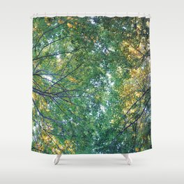 forest 013 Shower Curtain