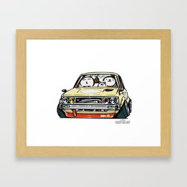 Crazy Car Art 0148 Framed Art Print