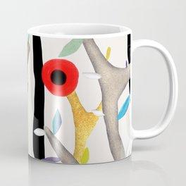 Woodland Poppy Botanical Coffee Mug