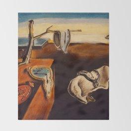 Salvador Dali - The Persistence of Memory Throw Blanket