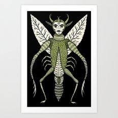 Ten-Legged Creepy Crawly Art Print