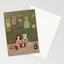 At antique shop Stationery Cards