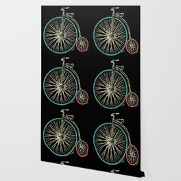 Cycling Forever | Penny Farthing High Wheel Wallpaper