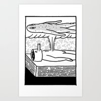Sleep Walker Art Print