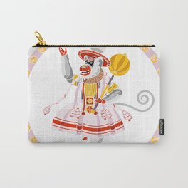Hanuman Kathakali Carry-All Pouch
