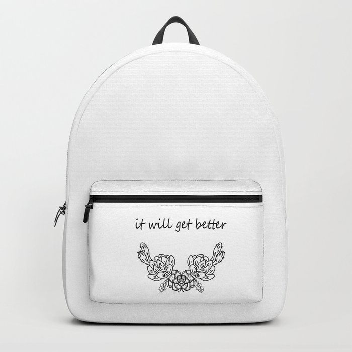It will get better . Сacti Backpack